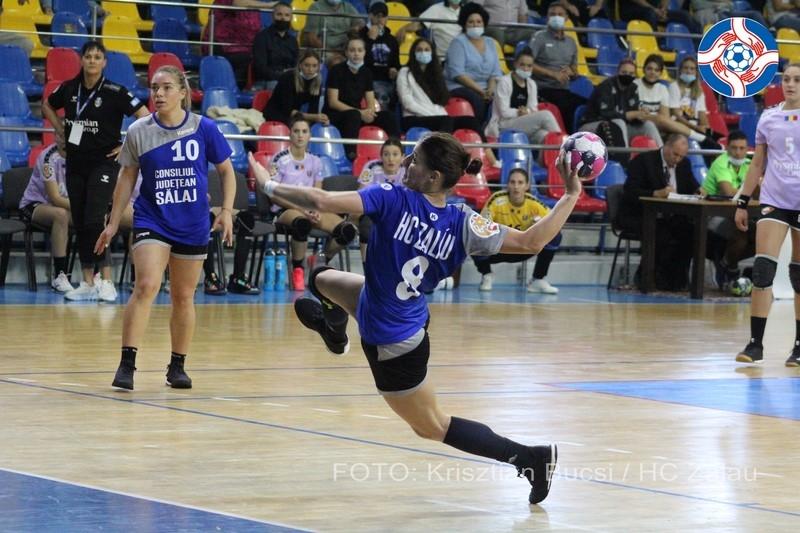 Etapa 2: HC Zalău - CSM Slatina 24-20