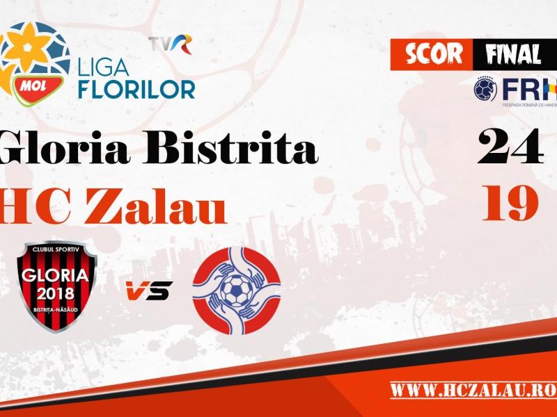 Gloria Bistrița - HC Zalău 24 -19