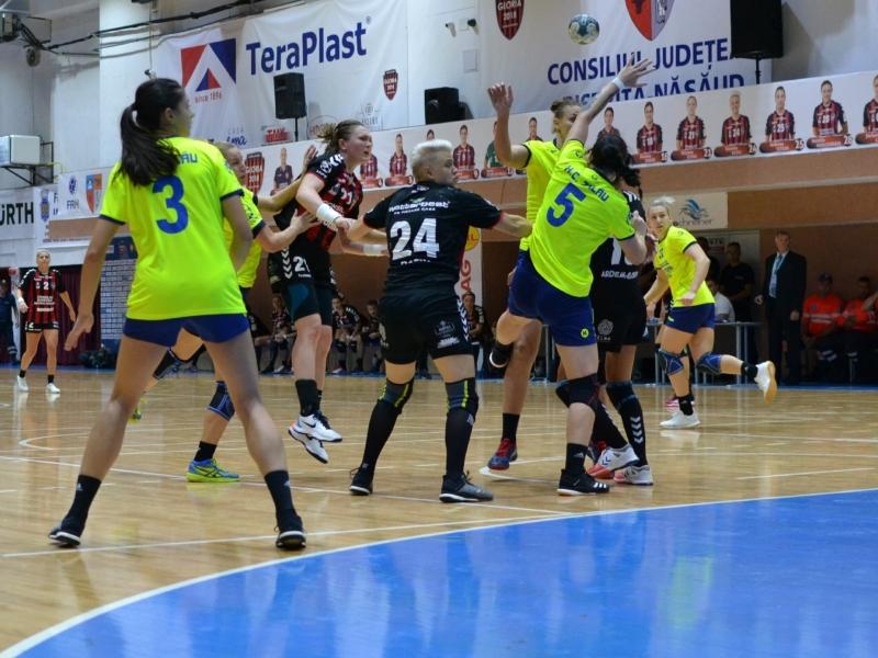 Gloria Bistrița - HC Zalău  24 - 23