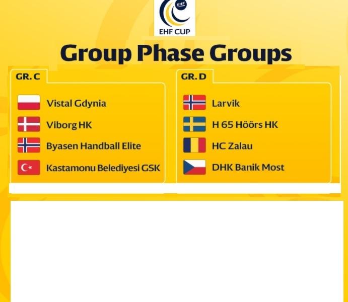 HC Zalau alaturi de Larvik, Hoors si Banik in grupa D