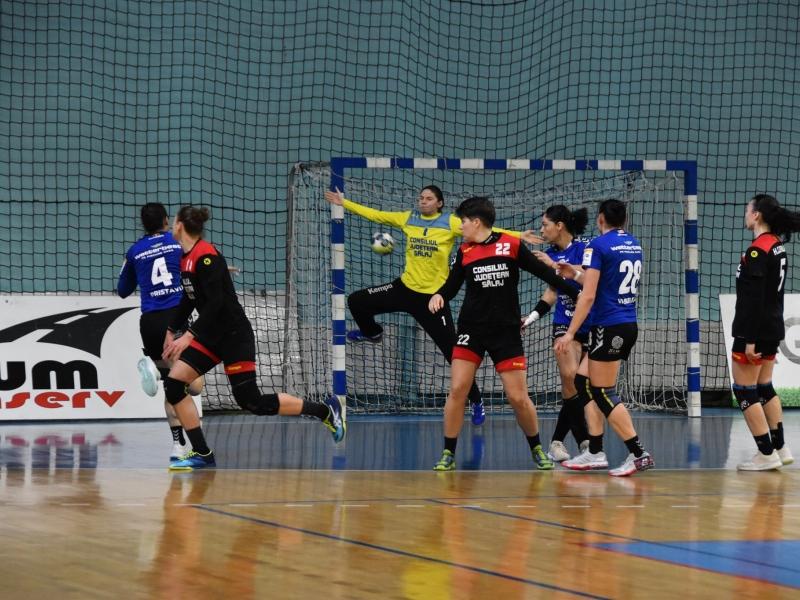 HC Zalău - Gloria Bistrița 25 - 23
