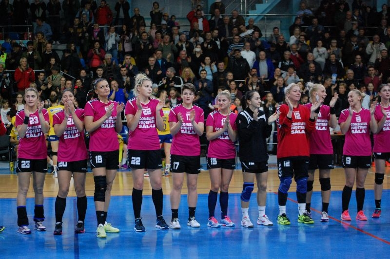 HC Zalau - Hypo Viena  30-22 (13-7)