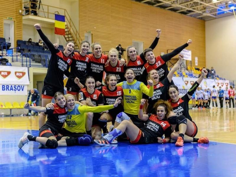 HC Zalău învinge SCM Craiova, 24-18