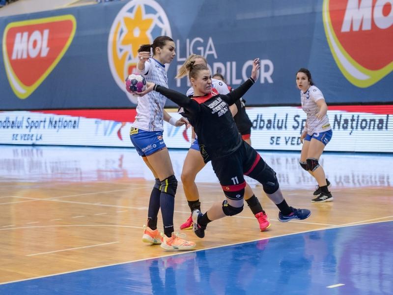 HC Zalău - Rapid București 22 - 28