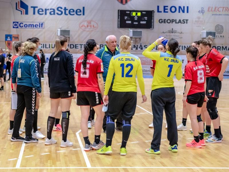 HC Zalău - U Cluj 30 - 22 FOTO: Dan Potor
