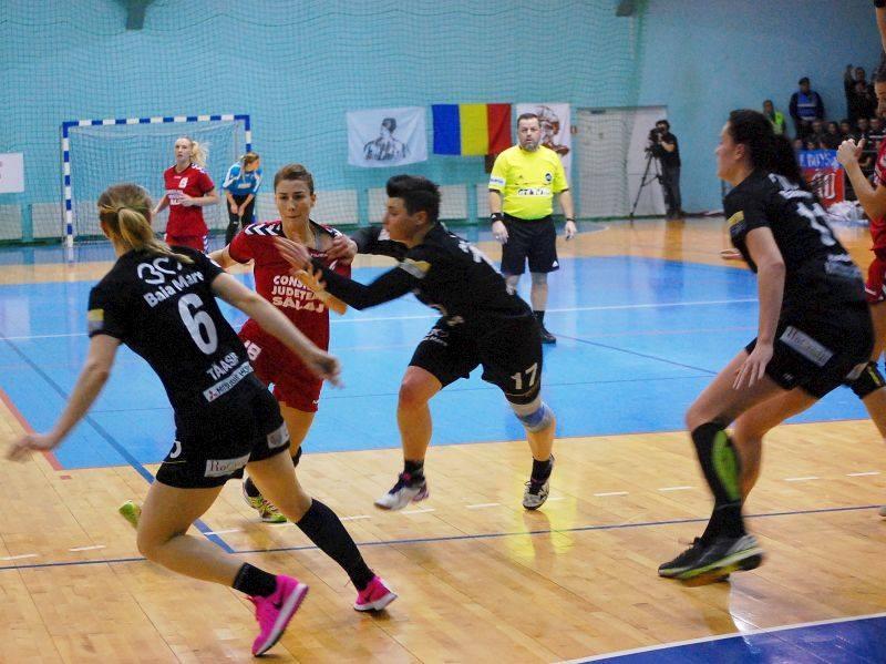 Magura Cisnadie - HC Zalau 24 - 30 (12 - 14)